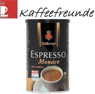 DALLMAYR ESPRESSO MONACO 200 GR IN DOSEN