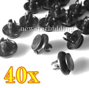 40x-Fender-Liner-Clips-For-2001-2002-2003-2004-Accord-Civic-Odyssey
