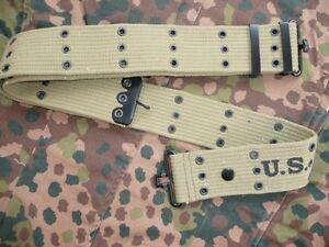 Ceinturon US Mle 36 ( 130 cms USA JEEP DODGE GMC D.DAY GI MILITARIA ARMY