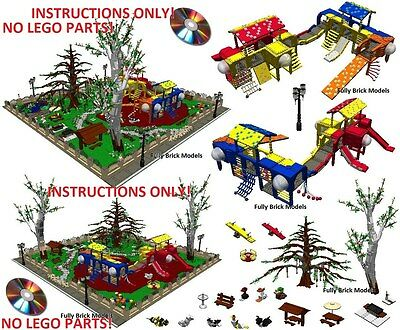 Lego Instructions To Build Modular Buildings Collection On Ebay