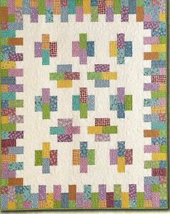 Quilt Pattern CHEESE /& CRACKERS Fat Quarter Friendly ATKINSON DESIGNS Moda