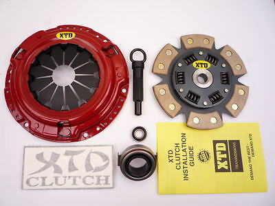 XTD® STAGE 3 CLUTCH 92 93 94 95 MAZDA MX-3 MX3 1.8L PROTEGE 4WD
