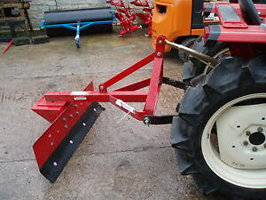 4ft-SHOP-SOILED-GRADER-BLADE-SNOW-PLOUGH-FOR-COMPACT-TRACTOR-PUSH-OR-PULL