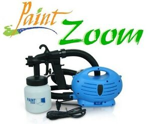 details about paint zoom spray gun full set as seen on tv. Black Bedroom Furniture Sets. Home Design Ideas