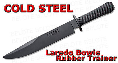 Cold Steel Rubber Laredo Bowie Training Practice Knife Trainer 92R16CCZ *NEW*