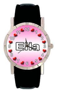 Name-Ella-Men-Lady-Genuine-Leather-Water-Resistant-Quartz-Wrist-Watch-SA1560