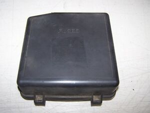 1997 volvo 960 fuse panel cover under hood ebay. Black Bedroom Furniture Sets. Home Design Ideas