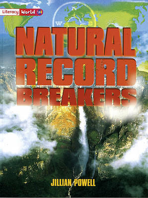 Literacy World Stage 2 Non-Fiction: Natural Record Breakers (6 Pack) (Literacy