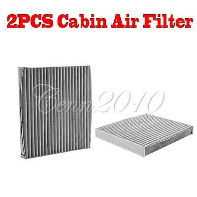 2X Cabin Air Filter For Scion Lexus Subaru Toyota Camry Avalon Highlander Carbon