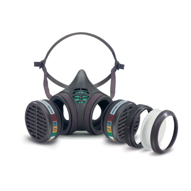 Moldex 8172m - 8000 Series A1 and P2 RD Medium Size Reusable Half Mask