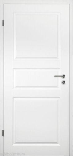 Türblattmaße  Tür Weiß Innentür Zimmertür Weißlack, RSP weißes Türblatt, Maße ...