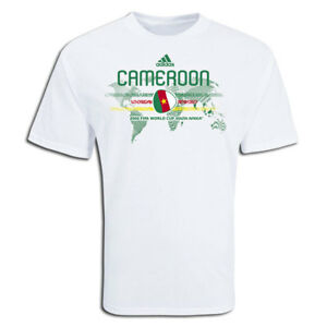 adidas-Cameroon-World-Cup-WC-2010-Country-Pride-Soccer-Shirt-Brand-New-White