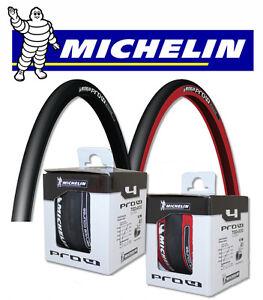 pneu v lo course michelin pro 4 700x23 c 700 slick bike tire lithion 2 krylion ebay. Black Bedroom Furniture Sets. Home Design Ideas