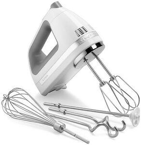 kitchenaid 9 speed hand mixer. image is loading kitchenaid-digital-hand-mixer-9-speed-khm926wh-dough- kitchenaid 9 speed hand mixer