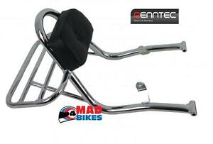 Backrest With Luggage Carrier For A  Yamaha Virago