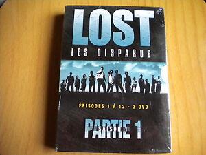 LOST LES DISPARUS SAISON 1 PARTIE 1 ! 3 DVD NEUF SOUS BLISTER | eBay
