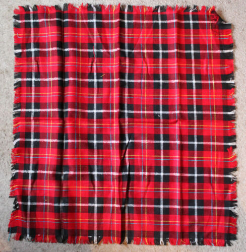 "Pattern Choice Listing Fringed Tartan 27/"" Bandana Head scarf"