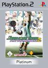 Smash Court Tennis Pro Tournament 2 (Sony PlayStation 2, 2005, DVD-Box)