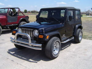 Image Is Loading Jeep Wrangler 87 06 Stainless Steel Dual Tube