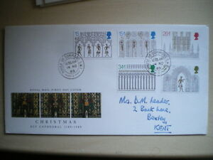 1989-FDC-CHRISTMAS-SPEC-CANCEL-HOUSE-OF-COMMONS