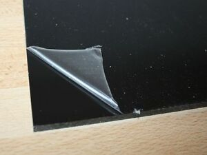 1 hart pvc kunststoffplatte schwarz 495x495x5mm ebay. Black Bedroom Furniture Sets. Home Design Ideas