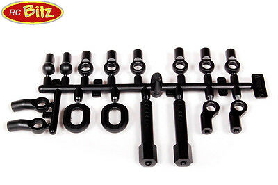 AX80005 Link and eyelet sets for AX10 SCX10 Wraith Ridgecrest suspension shocks