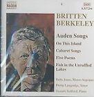 Britten, Berkeley: Auden Songs (2003)