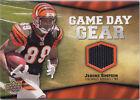 2009 Upper Deck Game Day Gear Jerome Simpson Cincinnati Bengals #SI Football Card