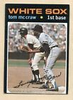 1971 Topps Tom McCraw Chicago White Sox #373 Baseball Card