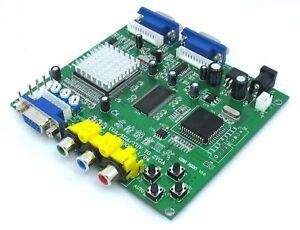 NEW-ARCADE-GAME-CONVERTER-CGA-RGB-YUV-EGA-to-VGA-GBS-8220-Promotion