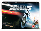 Fast And Furious Five - Rio Heist (Blu-ray and DVD Combo, 2011, 3-Disc Set)