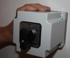 stern dreieck schalter 20 a drehzahlregelung f r starkstrom motoren 400 volt. Black Bedroom Furniture Sets. Home Design Ideas