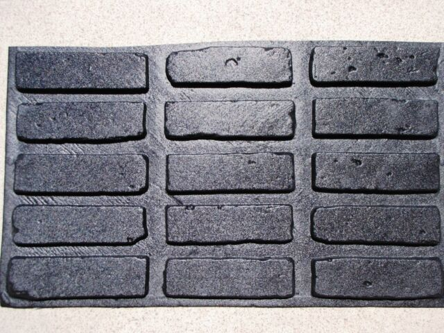 45+5 FREE 8x2 ANTIQUE BRICK VENEER SIDE MOULDS COVER WALLS, FLOORS, FIREPLACE