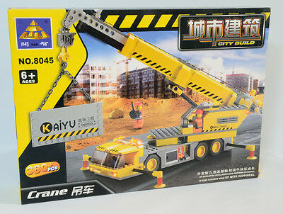 KY8045 Kazi Building Blocks Construction Machine Series Crane