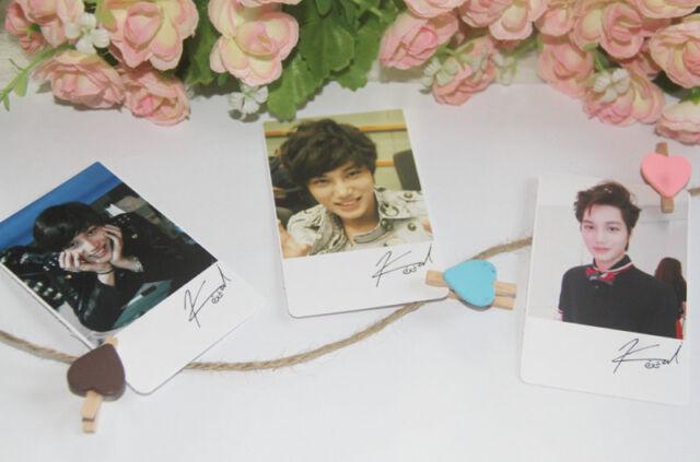 20pcs KAI Photo LOMO Polaroid cards K-POP EXO EXO-K Pictures fanmade Photocard