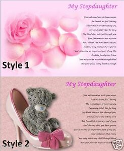 STEPDAUGHTER-personalised-poem-Laminated-Gift