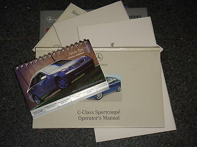 2002 Mercedes C Class Sports Coupe Owners Manual