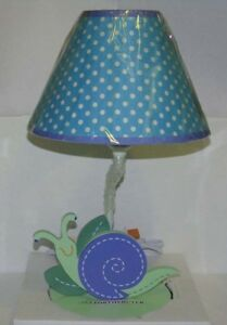 SUMERSAULT SUMMER FRIENDS LAMP BASE & FABRIC SHADE NEW