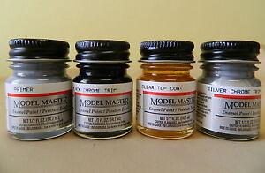 Testors-Model-Master-1-2-oz-5oz-Jar-Enamel-Paints-Listing-4-Various-Colors