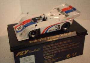 qq Da 162 FLY PORSCHE 917/10 2º RIVERSIDE CAN AM '73 No 59 HURLEY HAYWOOD