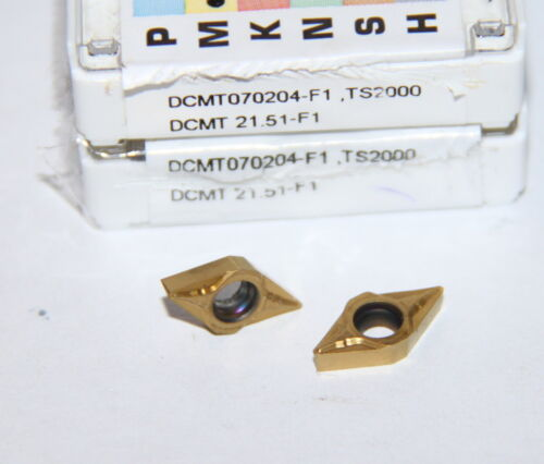 DCMT 21.51-F1 TS2000 SECO *** 10 INSERTS ** FACTORY PACK **