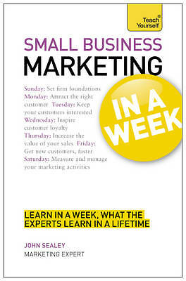 Small Business Marketing in a Week (Teach Yourself)-ExLibrary