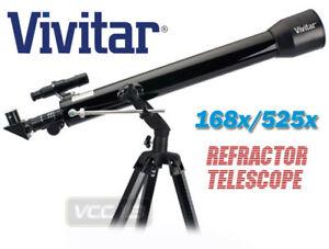 NEW-Vivitar-TEL-60700-168X-525X-PRO-Reflector-Telescope