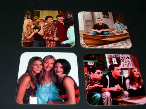 Friends Jennifer Aniston Matt LeBlanc COASTER Set