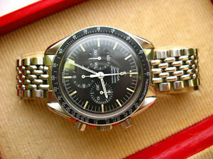 SCARCE-OMEGA-POLAR-PLAISTED-EXPEDITION-SPEEDMASTER-CAL-321-1968-VINTAGE