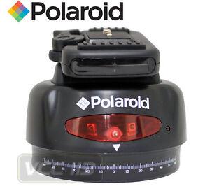 POLAROID-PLAPBH-Automatic-Pan-Tilt-Head-w-Remote-for-Video-Camcorders-EBRA-121R
