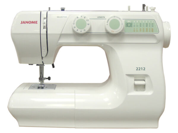 Janome 2212 Mechanical Sewing Machine Ebay