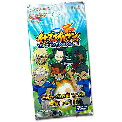 TAKARA TOMY INAZUMA ELEVEN IE-08 TRADING CARD GAME TCG BOX (24 PACK) 120PCS FFI