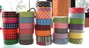 Washi-Tape-15mm-x-10-m-Roll-Decorative-Sticky-Paper-Masking-Tape-Adhesive-Gift