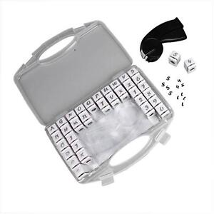 Alphabet numbers hand punch letters hole punch set for Craft hole punch set
